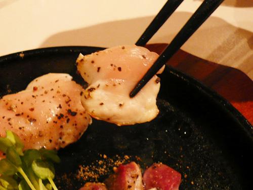葵地鶏ジュージュー焼き