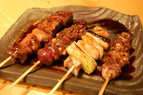 串焼き8種コースタレ