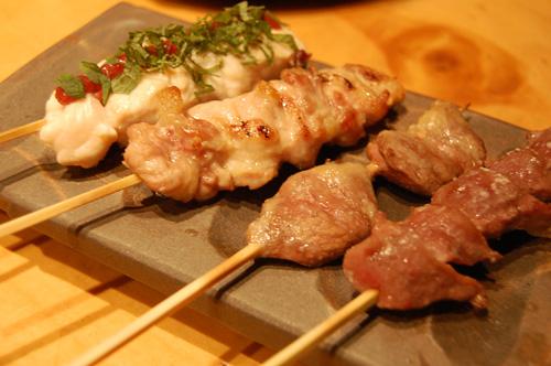 串焼き8種コース塩